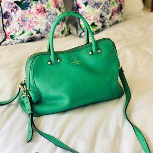 Kate Spade Emerald Green bag